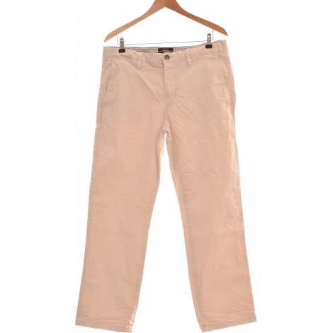 Pantalon droit BURTON Beige, camel