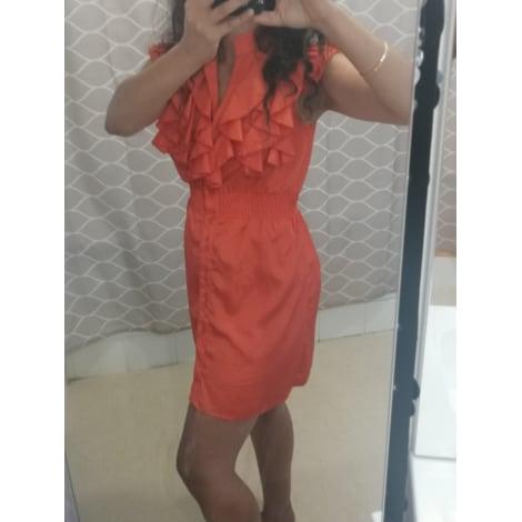 Robe courte MARQUE INCONNUE Orange