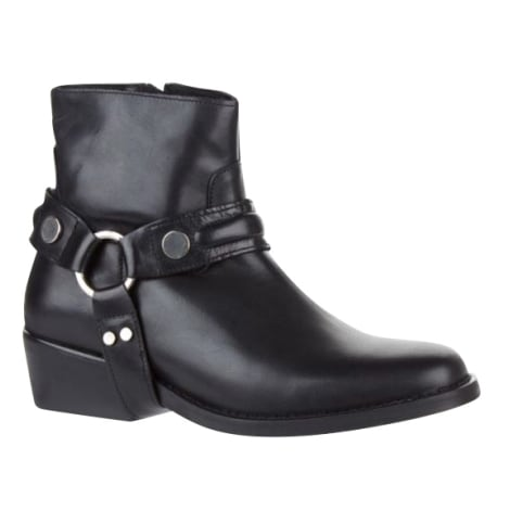 Biker Ankle Boots CLAUDIE PIERLOT Black