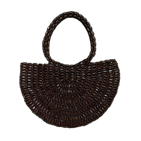 Sac à main en cuir ANTIK BATIK Marron