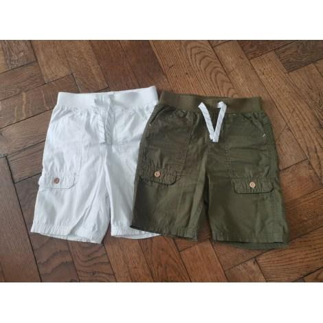 Bermuda Shorts KIABI White, off-white, ecru