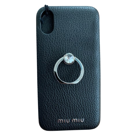 Etui iPhone  MIU MIU Noir