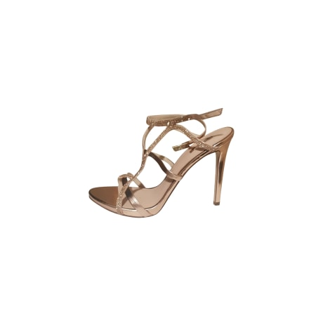 Heeled Sandals GUESS White, off-white, ecru