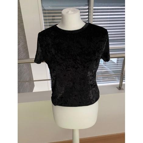 Top, tee-shirt HOLLISTER Noir