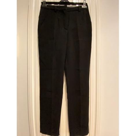 Pantalon carotte SONIA RYKIEL Noir