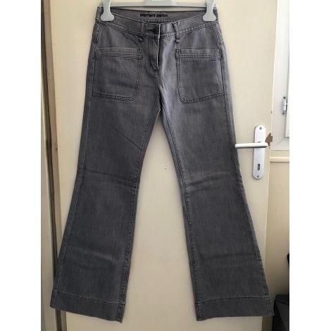 Jeans très evasé, patte d'éléphant ELEMENT Gris, anthracite