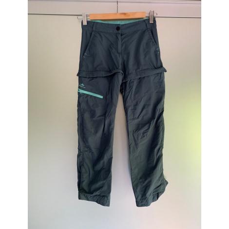 Pantalon de survêtement QUECHUA Gris, anthracite