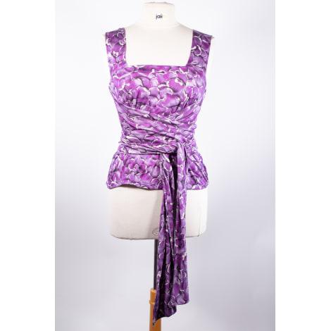 Top, tee-shirt YVES SAINT LAURENT Violet, mauve, lavande