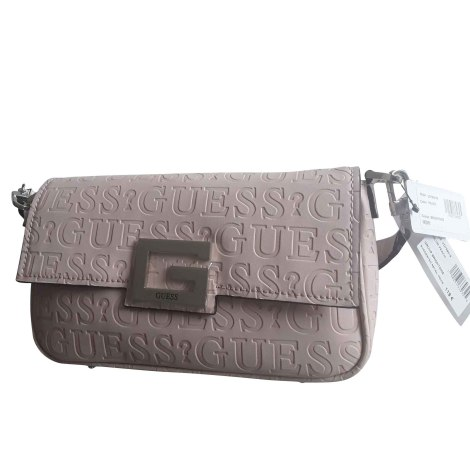 Leather Handbag GUESS Pink, fuchsia, light pink
