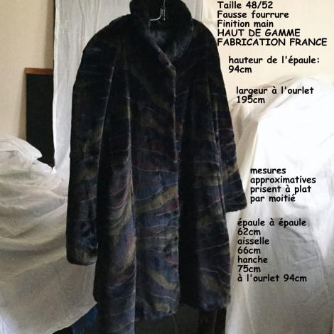 Manteau MARQUE INCONNUE Multicouleur