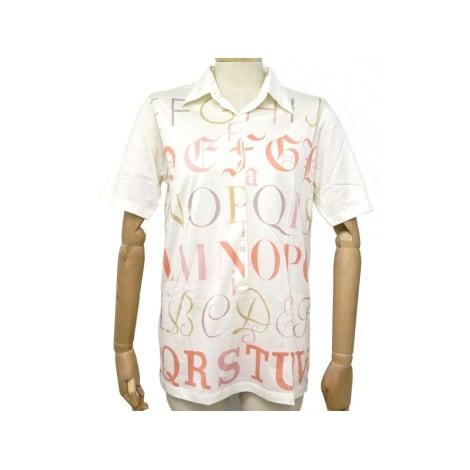 Top, tee-shirt HERMÈS Blanc