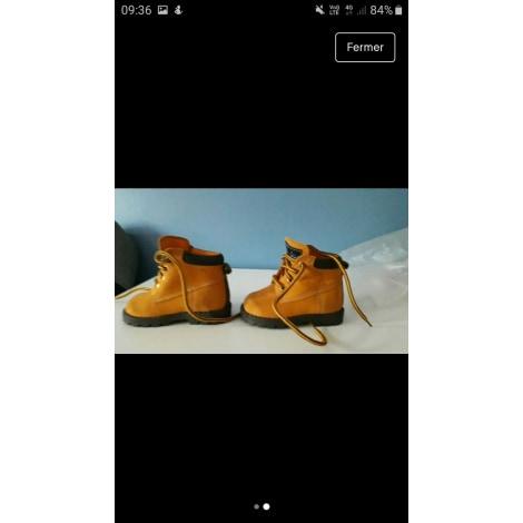 Ankle Boots BUBBLEGUMMERS Beige, camel