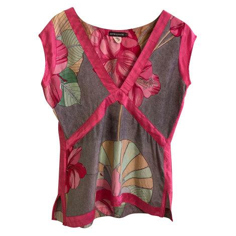Top, tee-shirt ANTIK BATIK Rose, fuschia, vieux rose