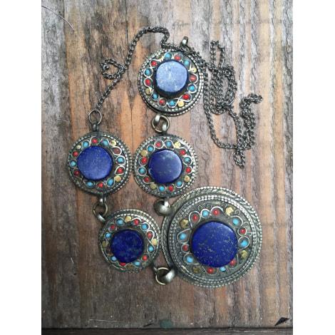 Collier ATELIER ARTISANAL Bleu, bleu marine, bleu turquoise