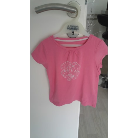 Top, Tee-shirt VERTBAUDET Rose, fuschia, vieux rose