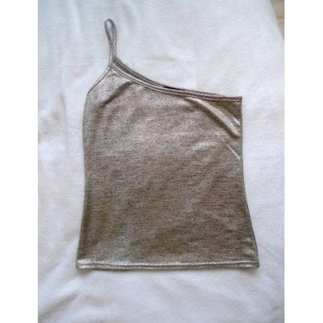 Top, tee-shirt BOOHOO Doré, bronze, cuivre