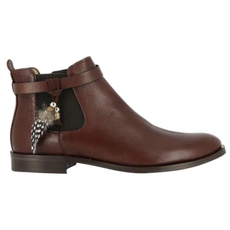 Bottines & low boots à talons SCHMOOVE Marron