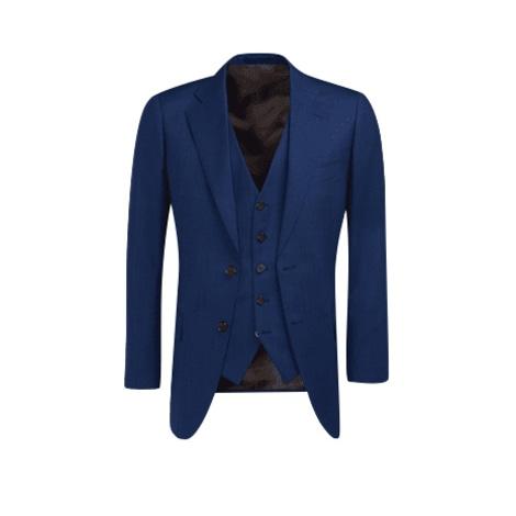 Abito da uomo completo SUITSUPPLY Blu, blu navy, turchese