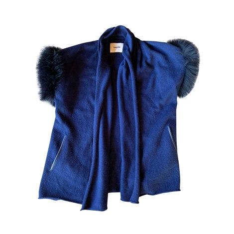 Gilet, cardigan MAX & MOI Bleu, bleu marine, bleu turquoise