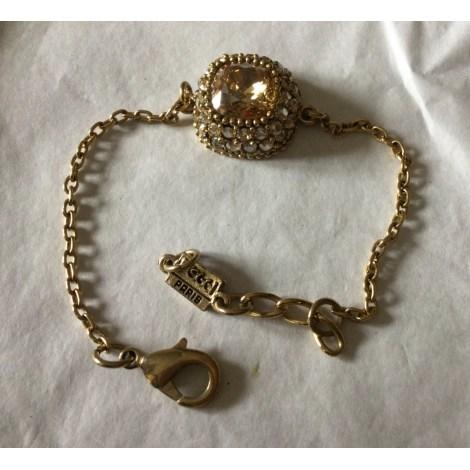 Bracelet POGGI Doré, bronze, cuivre