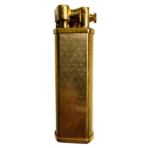 Cufflinks DUNHILL Golden, bronze, copper