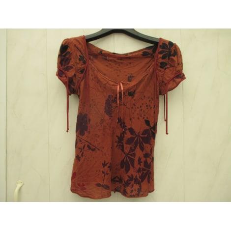 Top, tee-shirt COP-COPINE Rouge, bordeaux