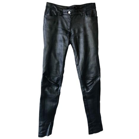 Pantalon droit BARBARA BUI Gris, anthracite