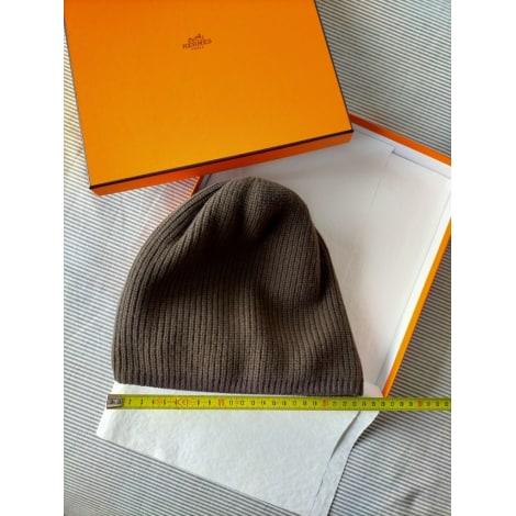 Bonnet HERMÈS Taupe