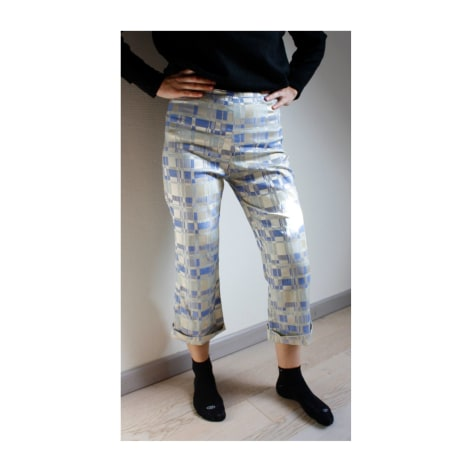 Pantalon évasé SASSIA Bleu, bleu marine, bleu turquoise