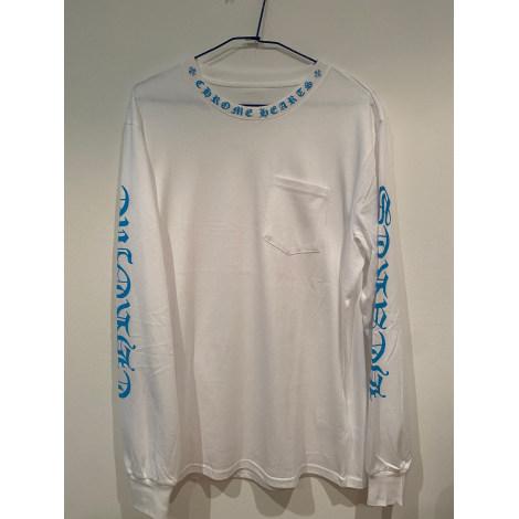 Top, tee-shirt CHROME HEARTS Blanc, blanc cassé, écru