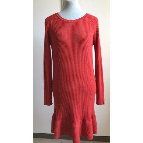 Robe courte COP-COPINE Rouge, bordeaux