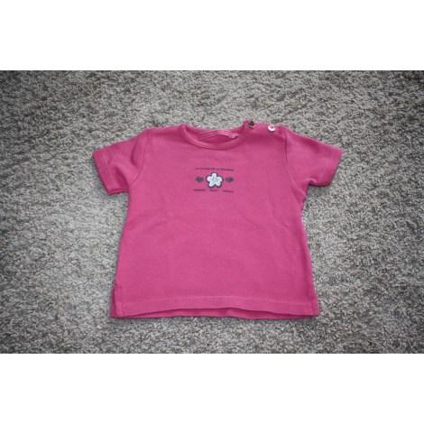 Top, tee shirt LE PHARE DE LA BALEINE Rose, fuschia, vieux rose