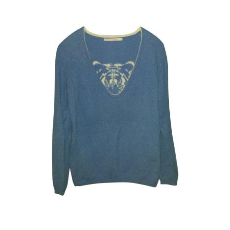 Pull BERENICE Bleu, bleu marine, bleu turquoise