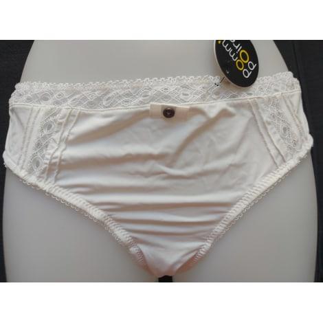 Culotte POM'POIRE Blanc, blanc cassé, écru