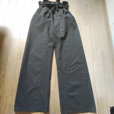 Pantalon large GUCCI Hobo Marron