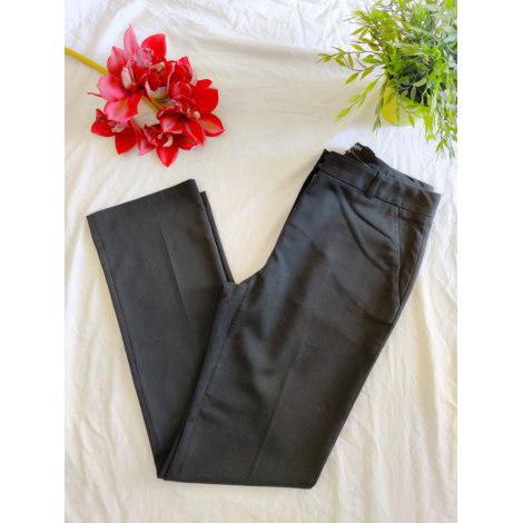 Pantalon droit CAROLL Noir