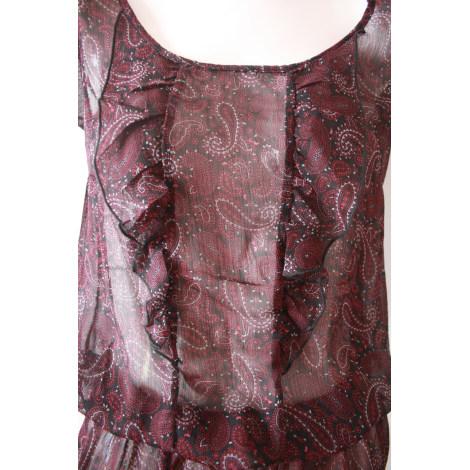 Robe courte K.WOMAN Rouge, bordeaux