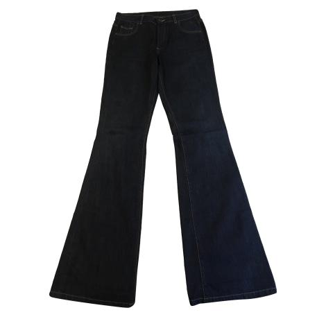 Jeans très evasé, patte d'éléphant PAUL & JOE SISTER Bleu, bleu marine, bleu turquoise