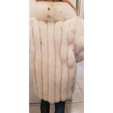 Manteau en fourrure LA CANADIENNE Blanc
