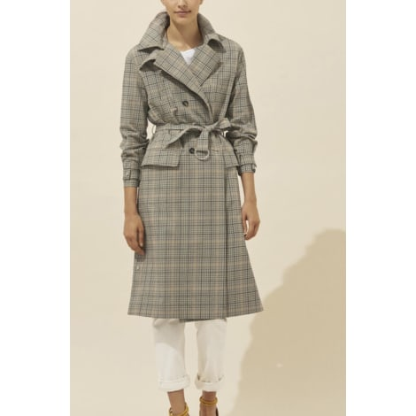 Imperméable, trench BA&SH Gris, anthracite