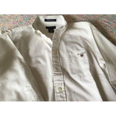 Chemise GANT Blanc, blanc cassé, écru