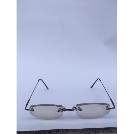 Eyeglass Frames MARQUE INCONNUE Black