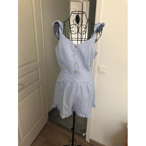 Combishort CAMAIEU Bleu, bleu marine, bleu turquoise