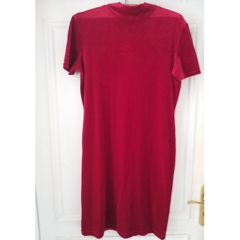 Robe courte VICTOIRE Rouge, bordeaux