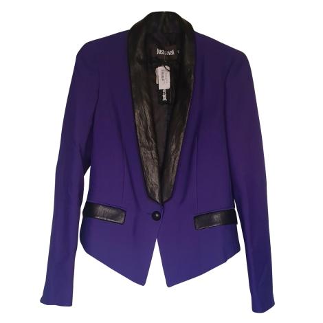 Blazer, veste tailleur JUST CAVALLI Violet, mauve, lavande