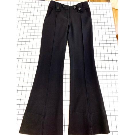 Pantalon évasé GIVENCHY Noir