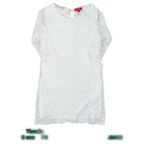 Robe TISSAIA Blanc, blanc cassé, écru