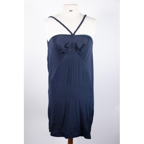 Robe courte SANDRO Bleu, bleu marine, bleu turquoise
