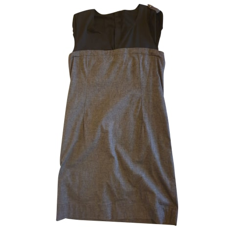 Robe mi-longue CHATTAWAK Gris, anthracite