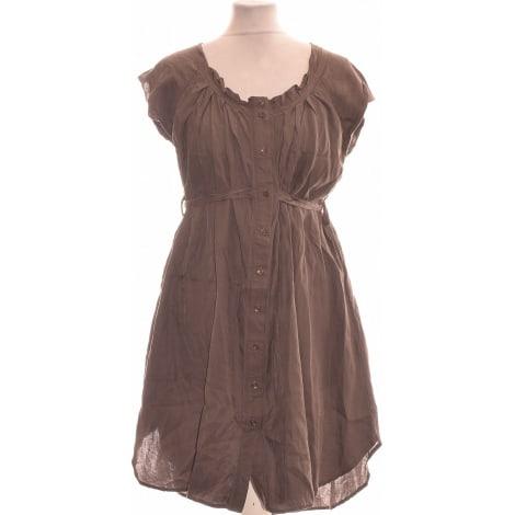 Robe courte GAP Marron